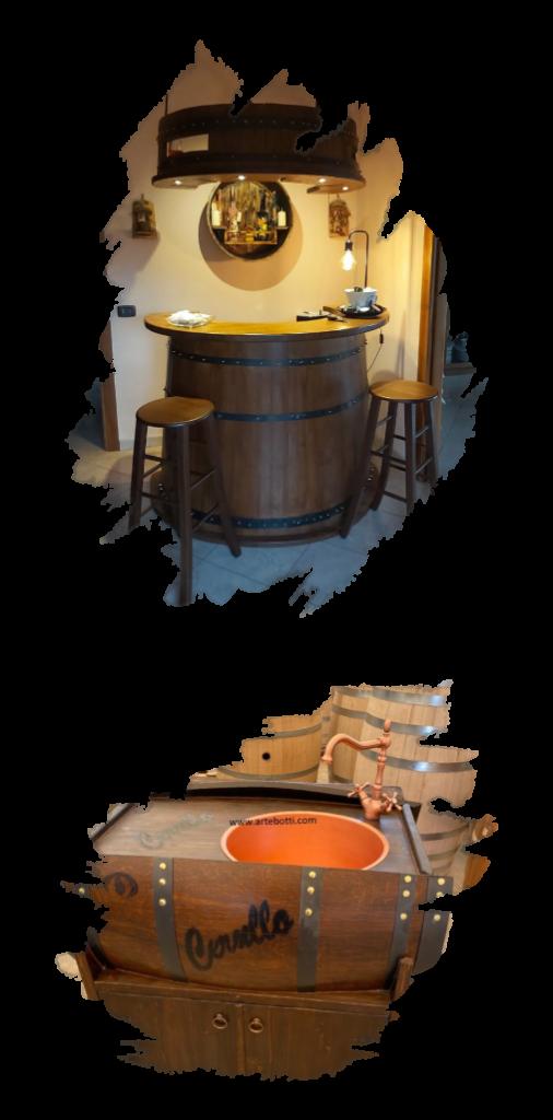 Lavorazione artigianale botti in legno